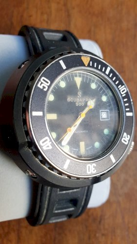 "SCUBAPRO 500 ""Tuna Can"" Diver ref. 57105 automatic"