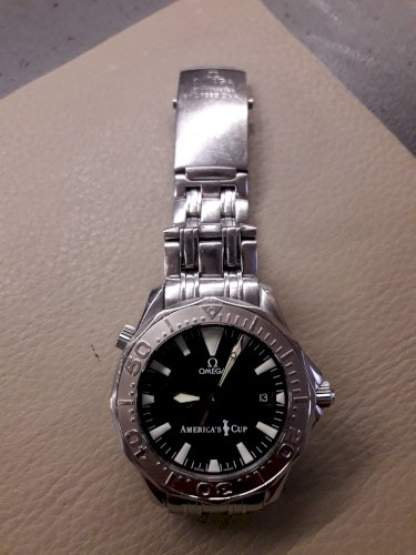 Omega Seamaster Admiral Cup Special Edition
