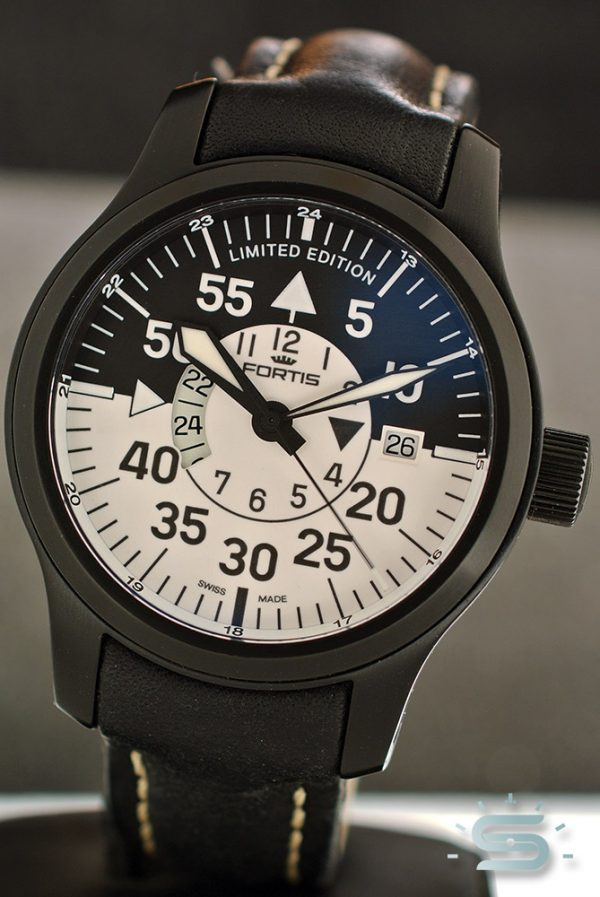 Fortis B-42 GMT PVD LE