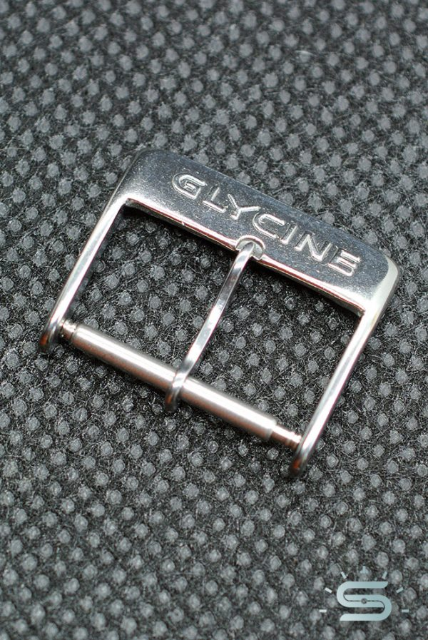 Glycine Fibbia acciaio 18mm